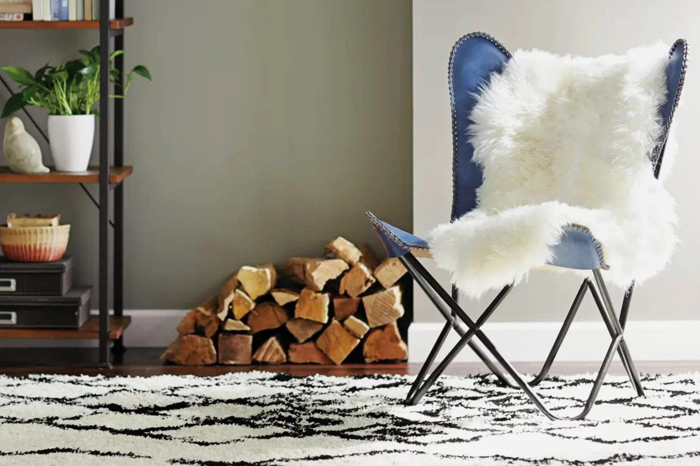 Fur Butterfly Chair On Sale Leather Butterfly Chair From Walmart 2018