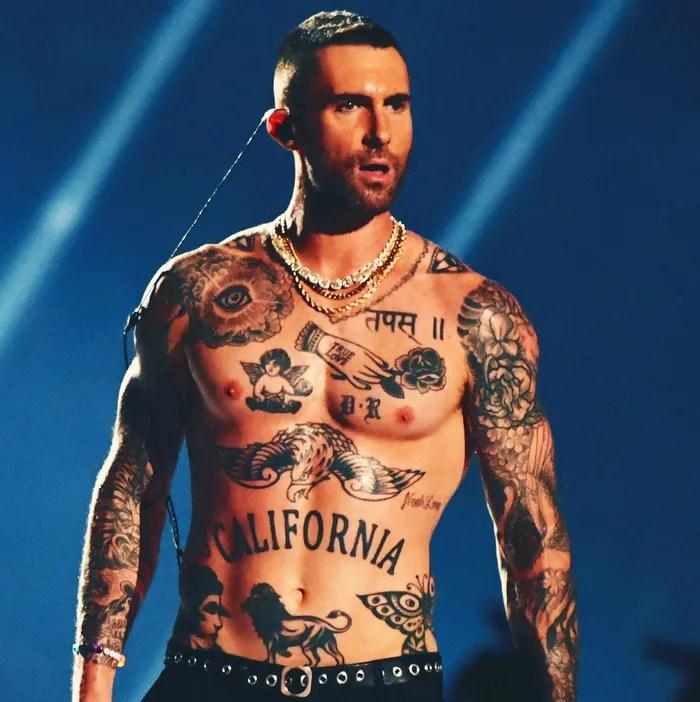 Adam Levine Tattoo Shirt