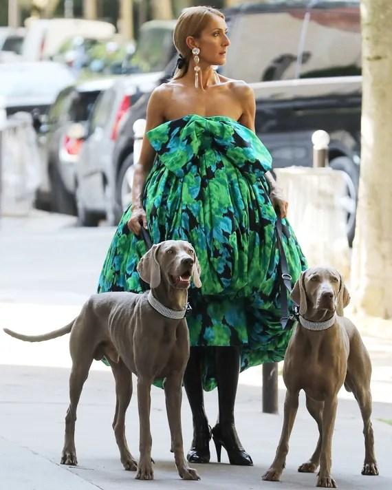 Селин Дион на парижской неделе моды: лучшие образы «Королевы стритстайла»