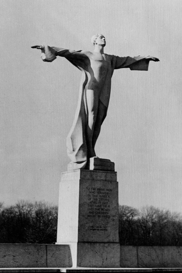 Gertrude Vanderbilt Whitney' Titantic Memorial Rock Creek Park Washington . 1931