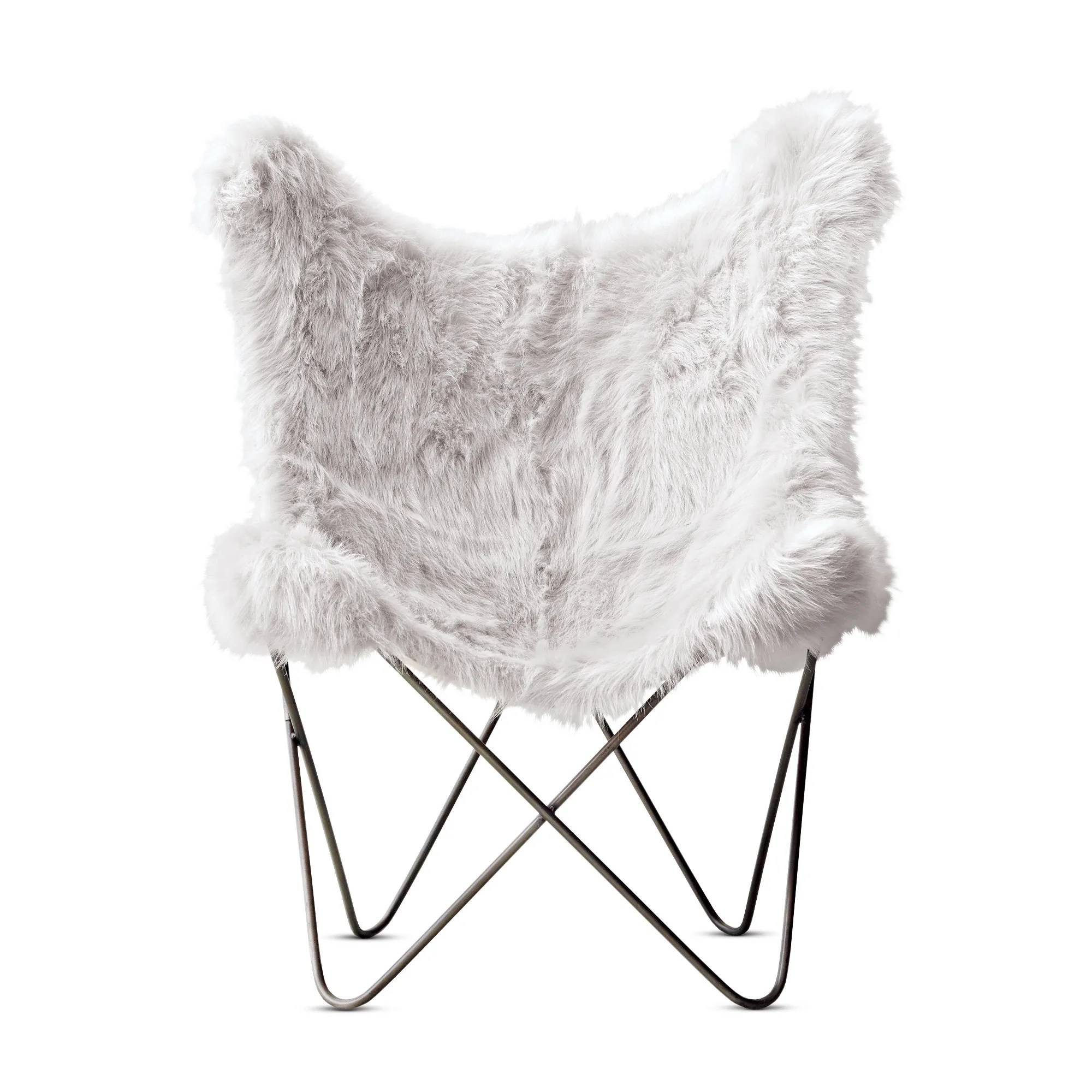 Fur Butterfly Chair A Furry Butterfly Chair Gift Guide 2015 Home Goods