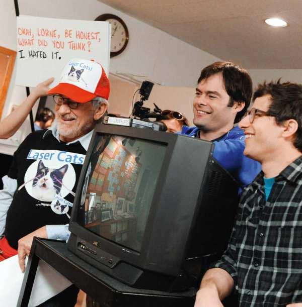 Bill Hader and Andy Samberg SNL