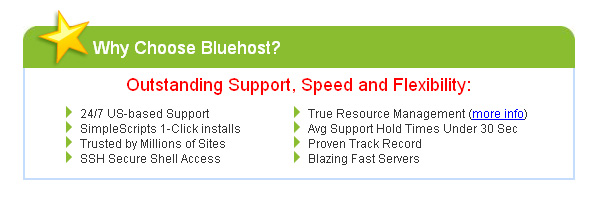 Bluehost Web Hosting Accounts Giveaway