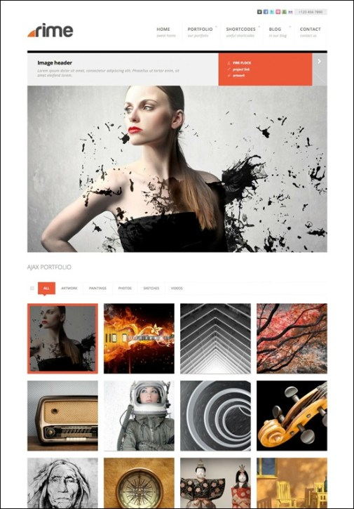 rime-responsive-theme-for-wordpress