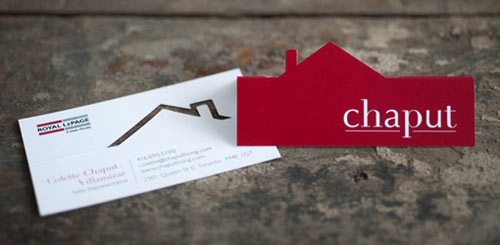 Chaput Real Estate Business Card
