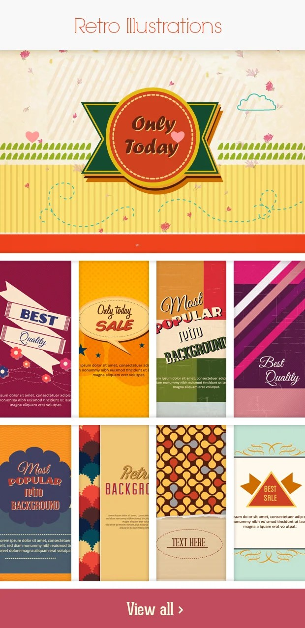 retro small Deal of the Week: 600+ Top Quality Vector Illustrations – Only $49