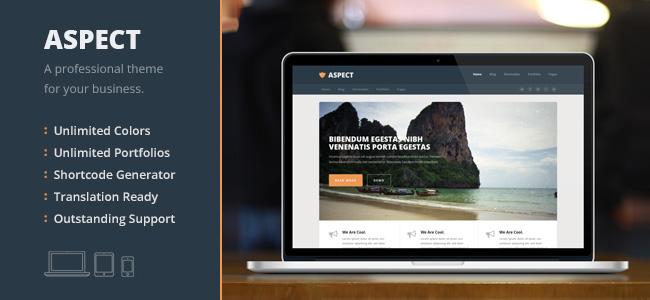 Aspect WordPress Themes