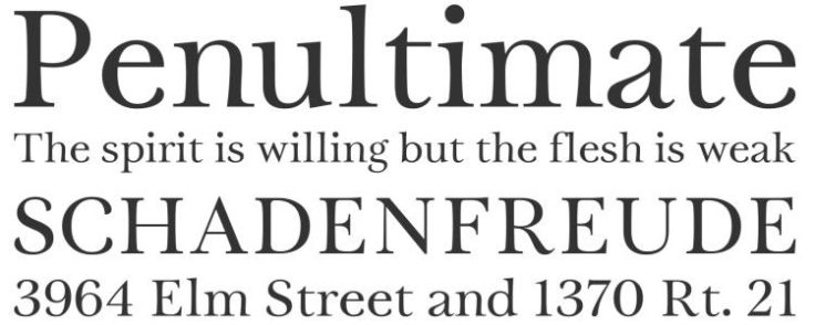 Trystfont designed by Philatype free typeface