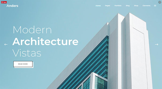 Anders - A Clean Multi-concept Portfolio Theme