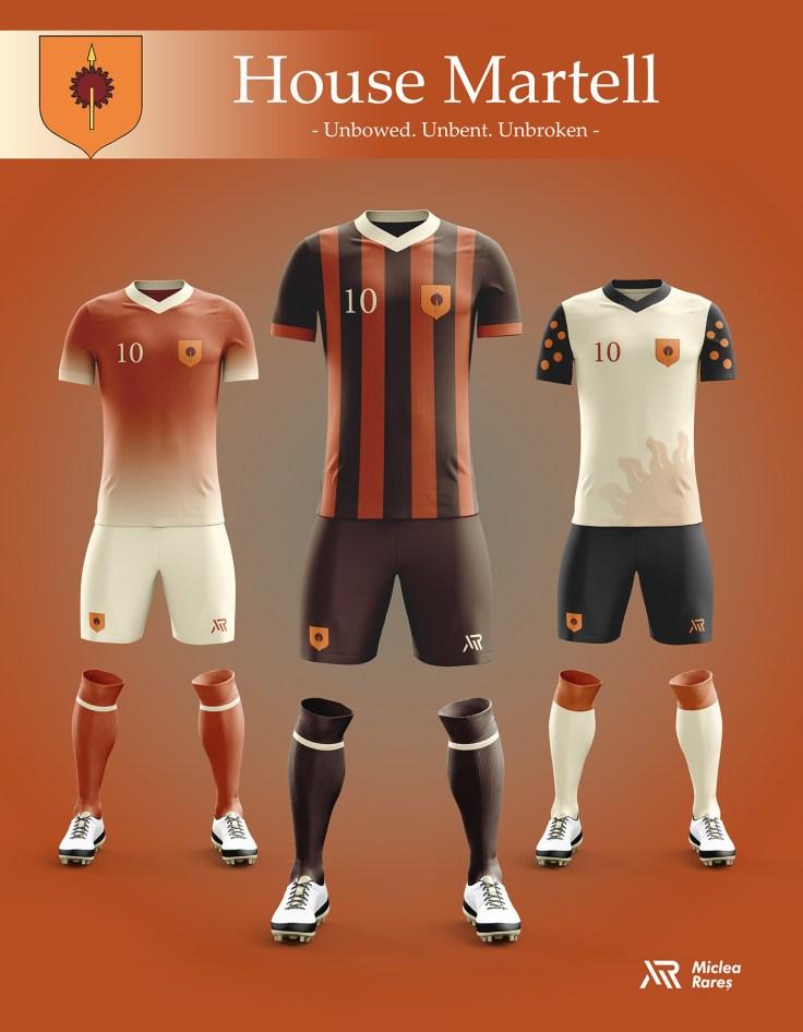 House Martell Football Kit
