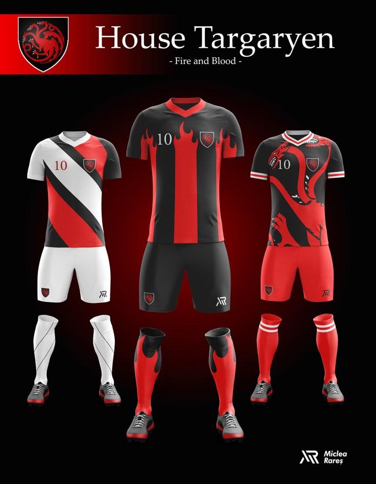 House Targaryen Football Kit