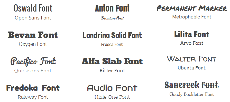 How Font Pairing Can Save Your Life And Designs PIXEL77