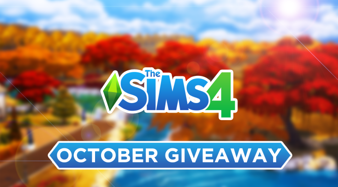 October Giveaway: Any Sims Game! 🎃🍂
