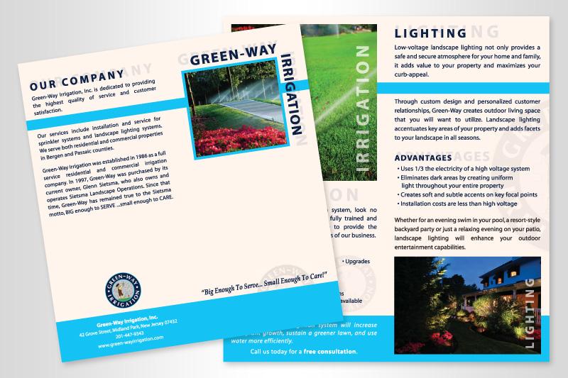 Rack Card Brochure