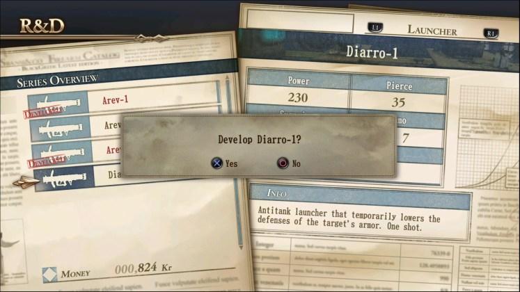 Valkyria Revolution - inventaire 2