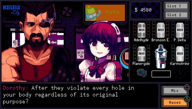 VA-11 HALL-A - screenshot 02
