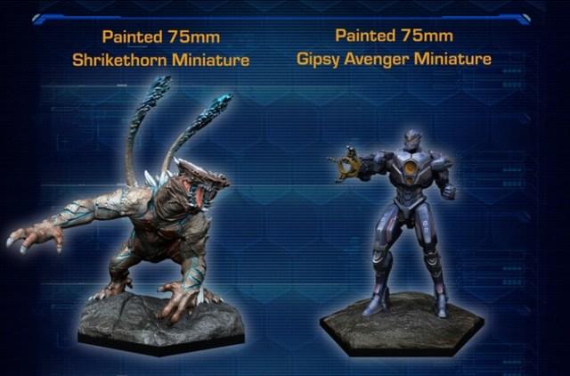 Pacific Rim Extinction Figurines Starter