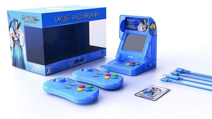 Neo Geo Mini Samurai Shodown - Bleu
