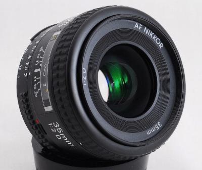 NIKKOR Nikon 35 mm f/2 D AF Lens - Review