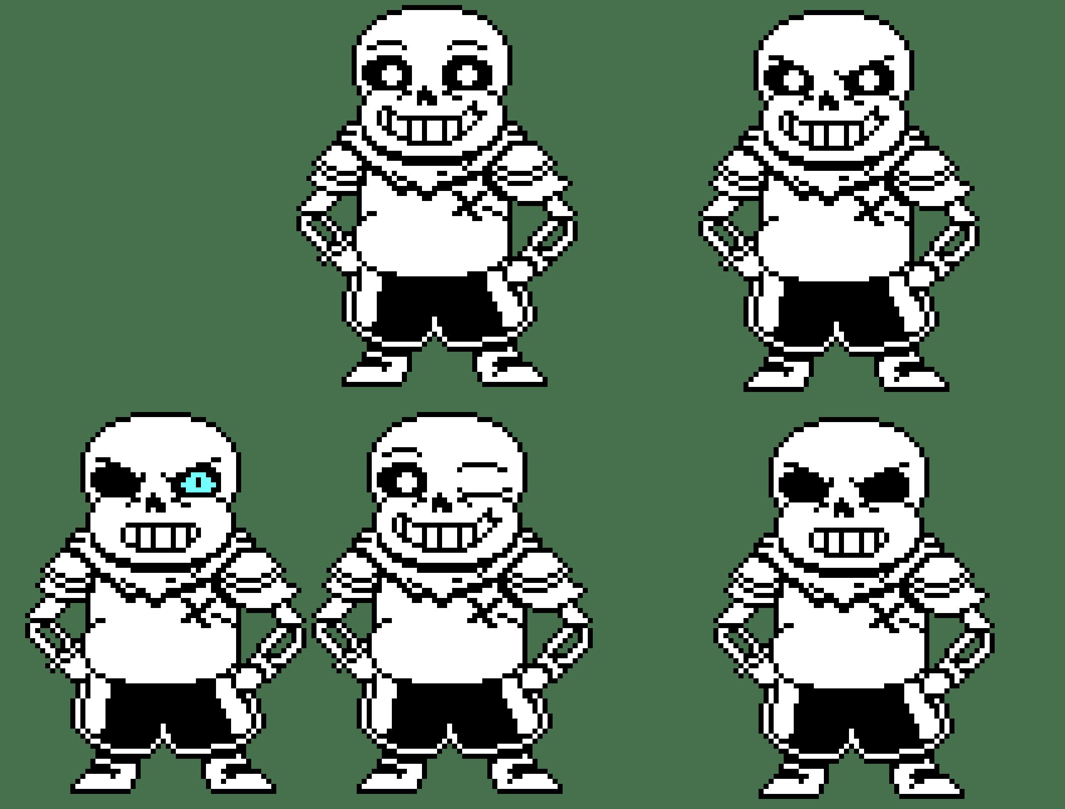 Underswap Art Pixel Papyrus