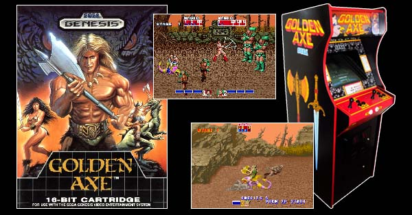 Pixelated Audio - Video Game Music podcast and Retro Gaming pixelated audio 01 - golden axe