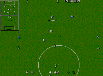 Dino Dini's Soccer Genesis pixelated audio episode 02