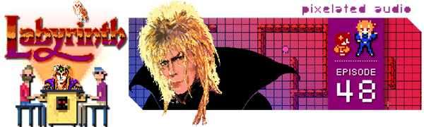 Pixelated Audio - Video Game Music podcast and Retro Gaming Labyrinth David Bowie