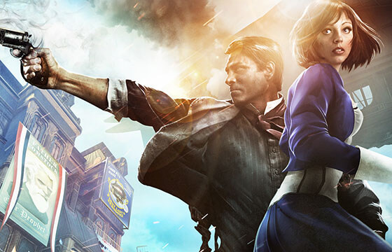 Bioshock Infinite Falling Wallpaper Hd Bioshock Infinite And Privileged Narratives Pixelated Geek