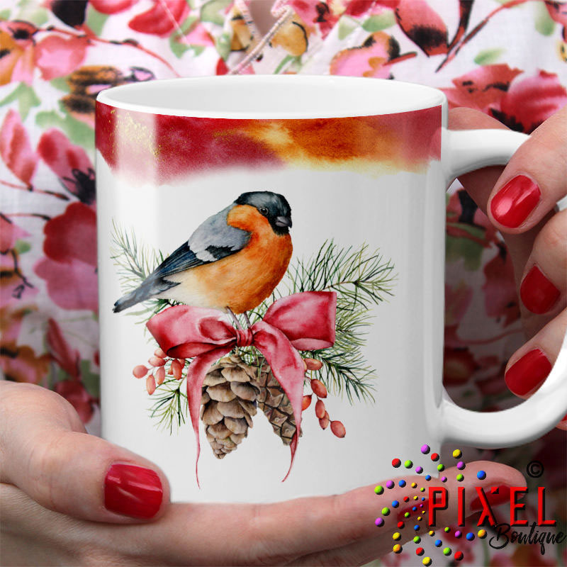 Christmas-Bird-with-hand-holding-mug