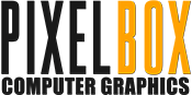 Logotipo Pixel Box CG
