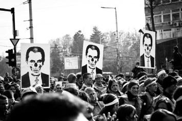 Demonstration, Sofia Bulgaria