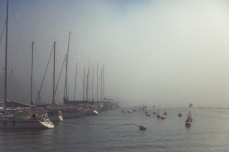 Foggy Helsinki Morning