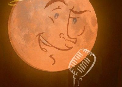 Singing Moon Calendar Illustration