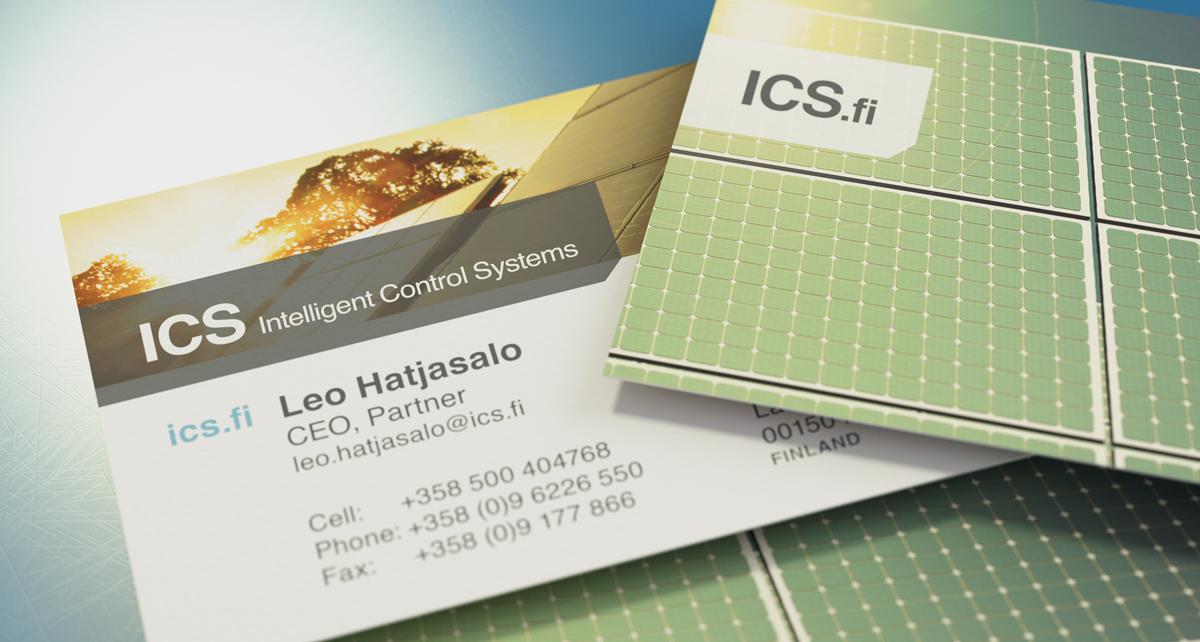 ICS Business Cards | Pixelbuffer Illustration & Design