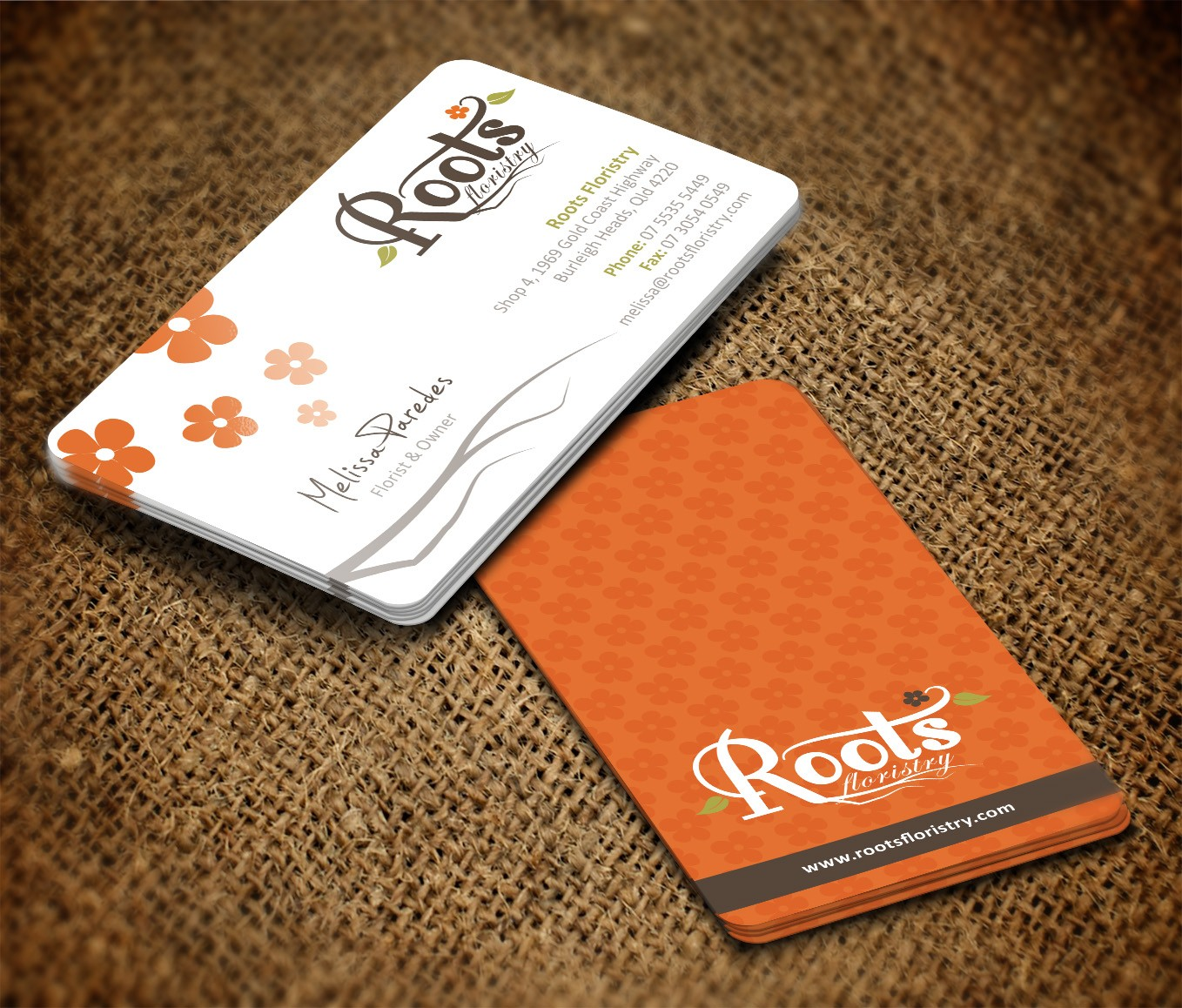 Professional and Modern Business card Design for 5