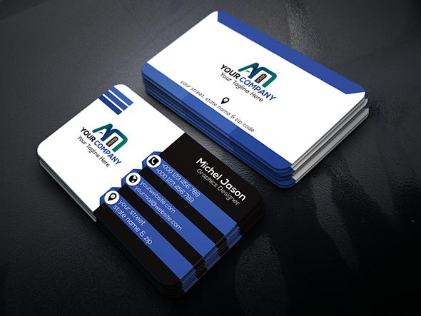 Modern & Creative Business Card Design for $10 - PixelClerks
