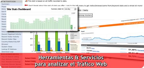 Herramientas y Servicios para anlizr el tráfico web