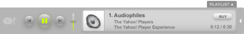 Reproductor Yahoo! media Player