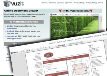 Vuzit visualizador online de archivos PDF
