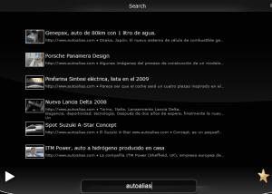 Playtanium - Interfaz   Aplicación demo que permite usar YouTube