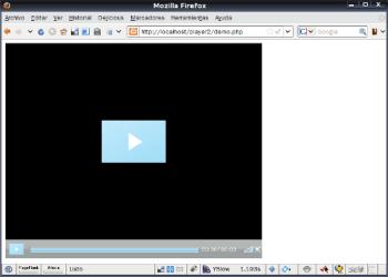 Open Source Player FLV - Interfaz