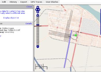 OpenStreetMap - Interfaz