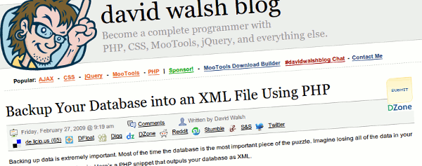 david-walsh-mysql-xml-php
