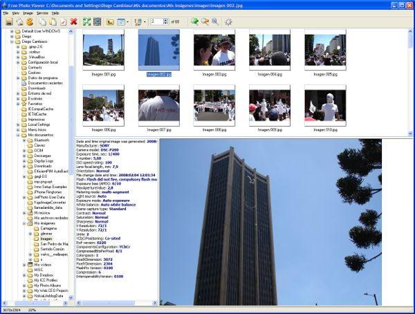 free-photo-viewer-interfaz