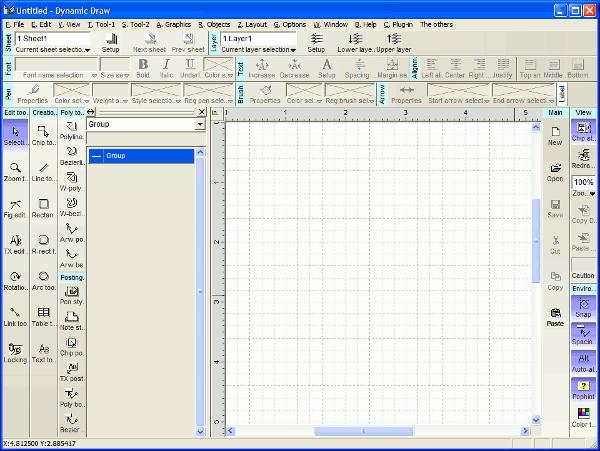 Dynamic Draw - Interfaz