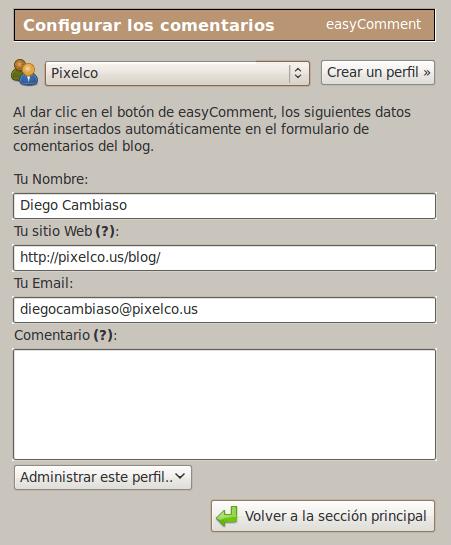 Pantallazo-easyComment-Extension
