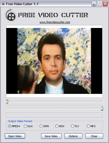 Free Video Cutter - Interfaz