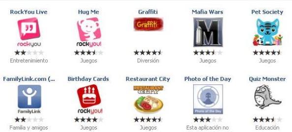 1 aplicaciones que regala Facebook