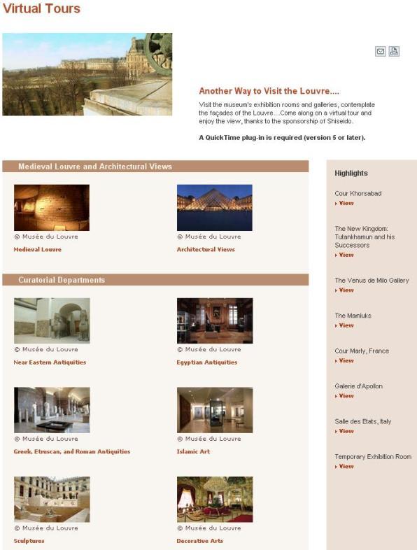 2 recorrido virtual museo del Louvre