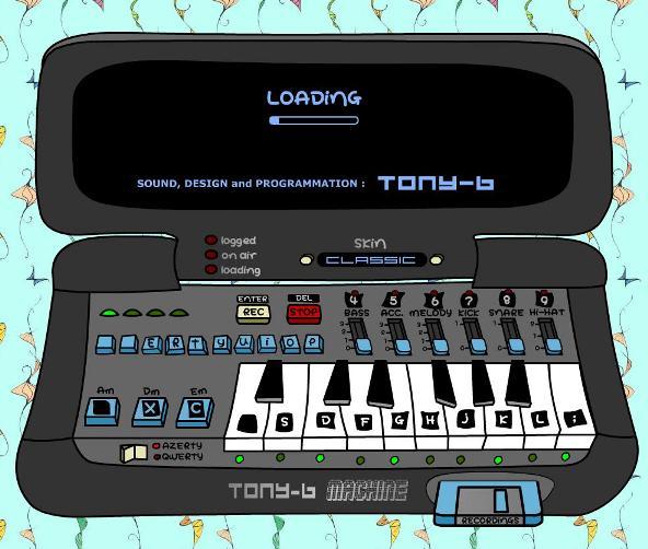 3 Tony b Machine maquina DJ online